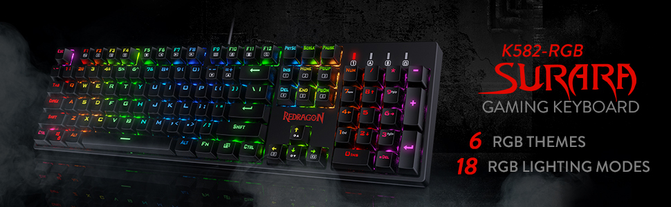 Redragon Surara gaming keyboard