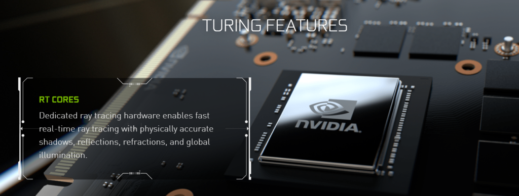 nvidia rtx turing features, ray tracing